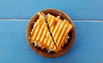 Recette Grilled Cheese Sandwich
