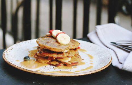 Pancakes Banane Cannabis
